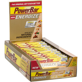 PowerBar New Energize Bar Box 25x55g Original Vanilla Almond